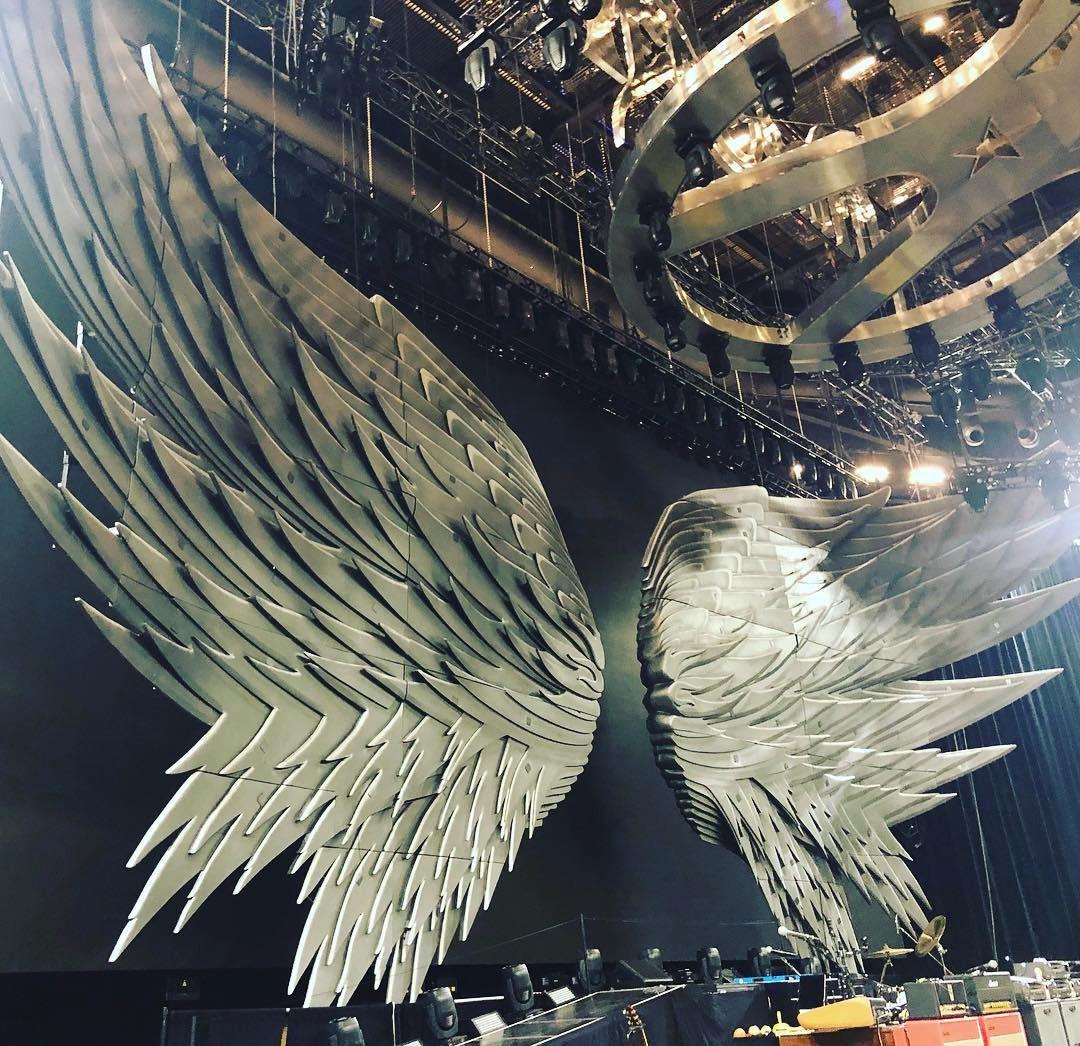 aerosmith stage wings