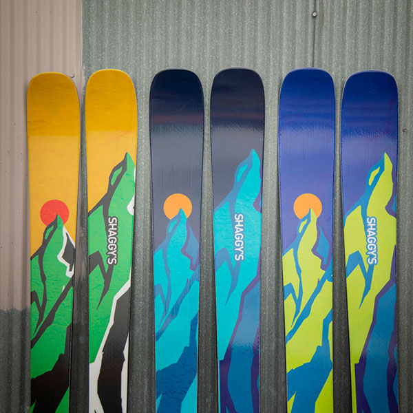 Shaggy's Copper Country Skis