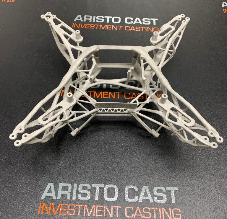 metal drone frame