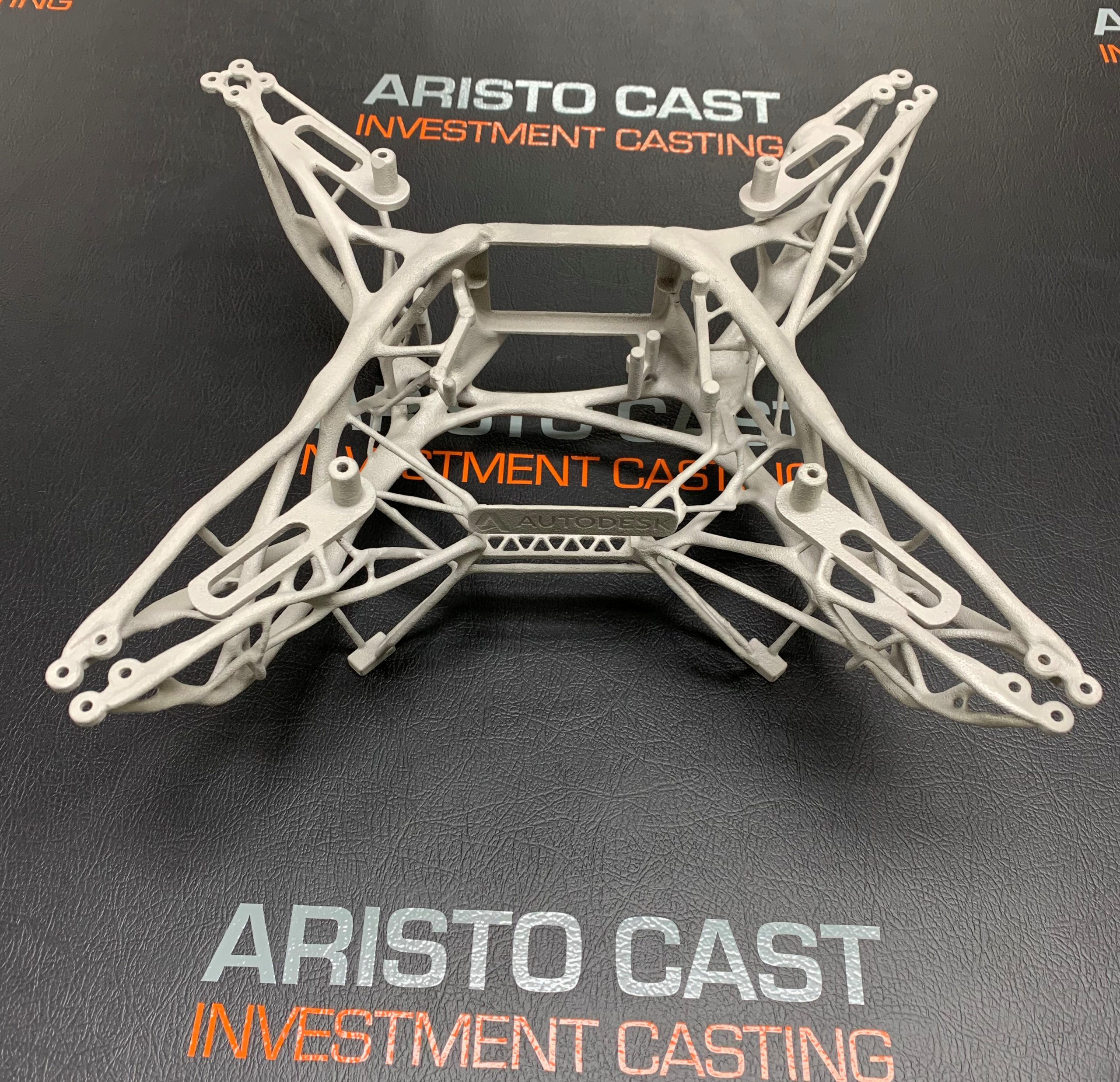 metal drone frame