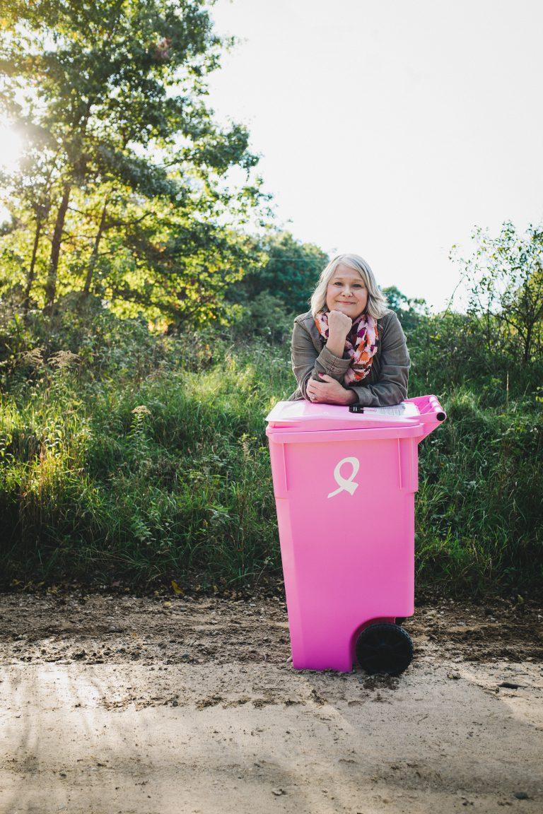 the cascade pink cart