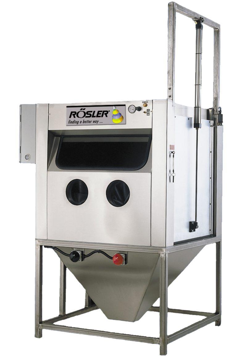 wet blasting machine